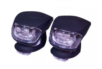 Lumen8 Dual LED Silicon Cycle Light Pair
