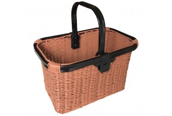 Quick Release Wicker Effect Basket