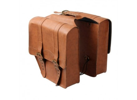 Leather Twin Pannier Bag