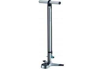 Merida Premium aluminium floor pump with oversize guage