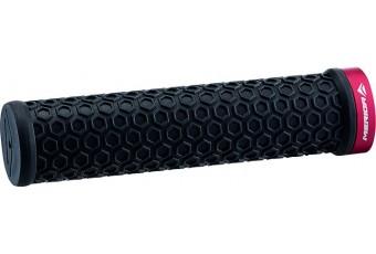Merida Lock on grip - Red clamp