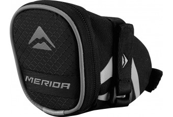 Merida Saddlebag - black / grey - Medium